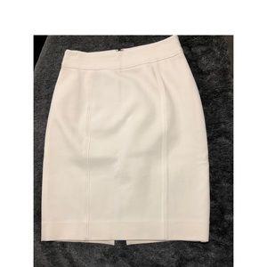 WHBM White skirt